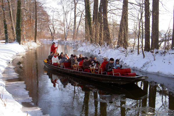 Spreewald & Potsdam i vinterskrud,  - med Icakuriren