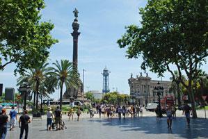 Barcelona vin & julshopping