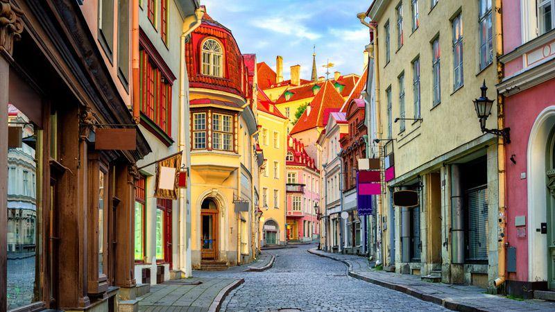 Stadsmiljön i Tallinn är på många sätt unik.
