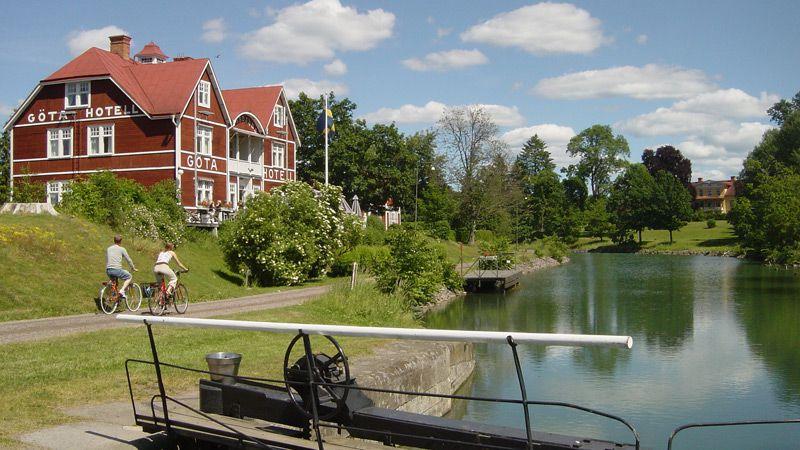 Göta kanal - Östergötland med Kinda Kanal & Visingsö