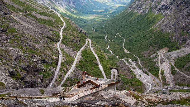 Norska fjäll & fjordar med Trollstigen
