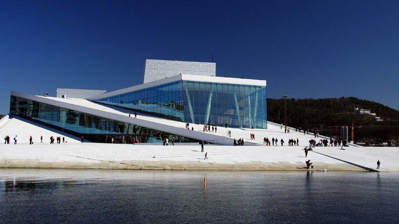 Oslo Opera med Kon-Tiki Museum