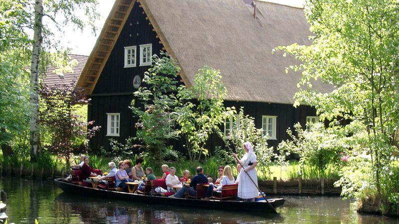 Naturidyllen Spreewald med Dresden & båttur