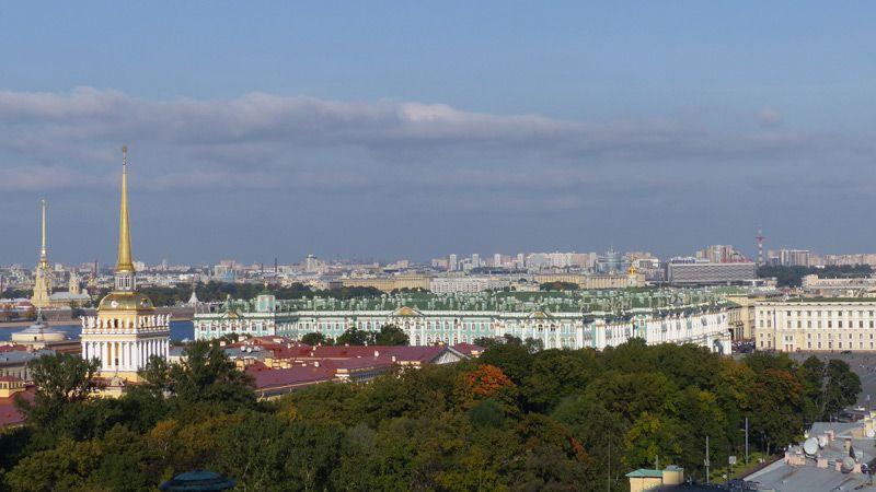 Sankt Petersburg med Eremitaget & Katarinapalatset, buss