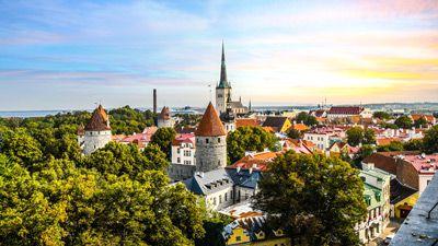 Med tåg till Baltikum - med Estland, Lettland & Litauen