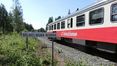 Inlandsbanan med Kiruna - hälsingegårdar & silvergruva