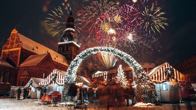 Fira nyår i Riga på 5-stjärnigt hotell!