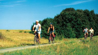 Tyska Rivieran på cykel