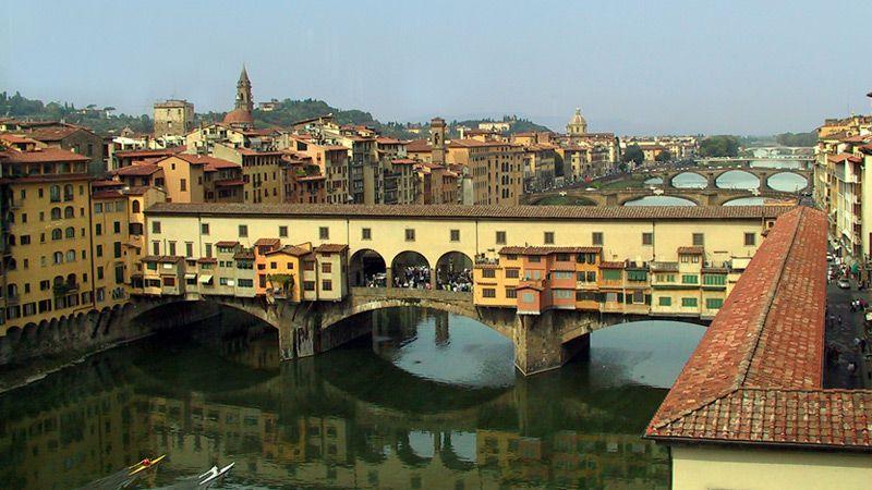 Ponte Vecchio i Florens.