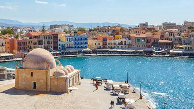 Kreta - minoer & mytologi, med Knossos & Spinalonga