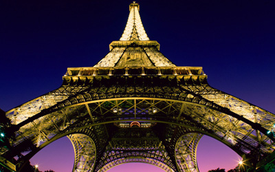 Paris - med tåg från London under Engelska kanalen