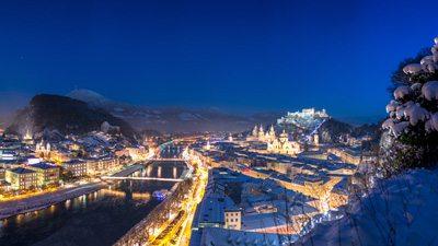 Salzburg & München i jultid med Herrenchiemsee
