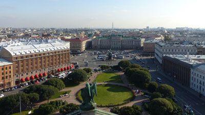 Den världsberömda röda torget med basilikakatedralen och spasskaya-tornet på en resa till ryssland | Jörns Resor
