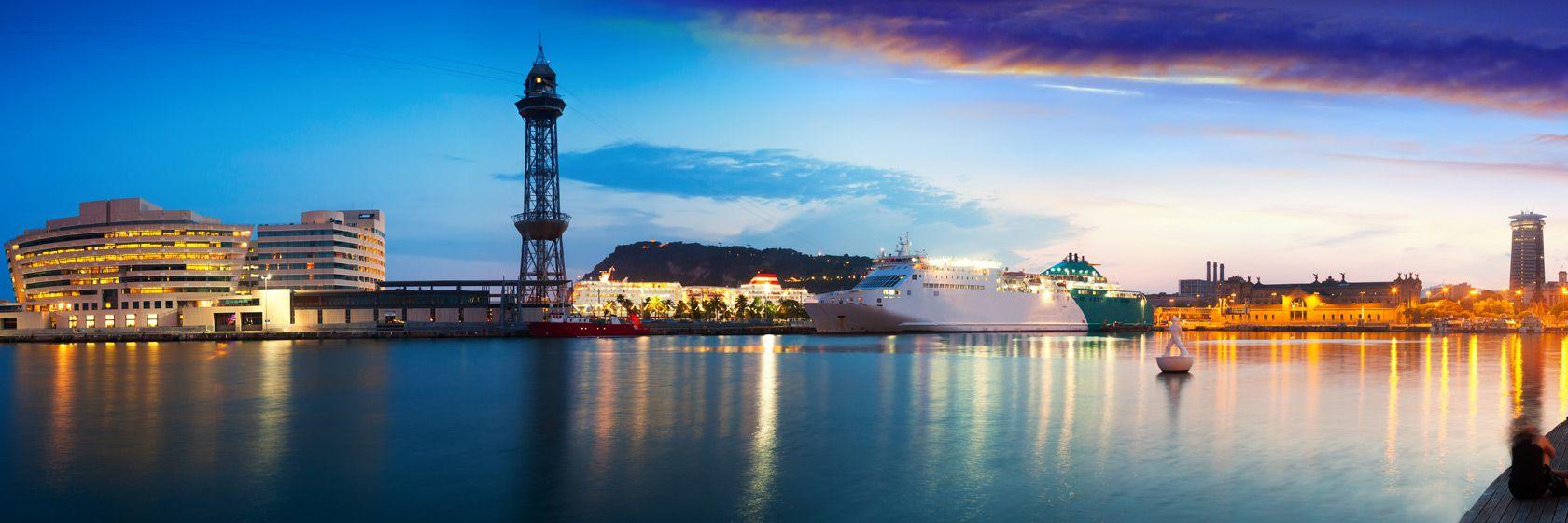 """Vy över San Sebastian, Spaniens elegantaste badort och """"gastronomins huvudstad"""".  Foto Dario Garrido."""
