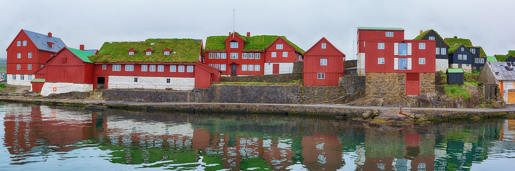 Tinganes i Tórshavn. Foto: Shutterstock