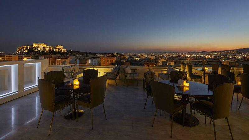 Titania Hotel, Aten