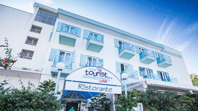 Entré Hotel Tourist i Cefalú