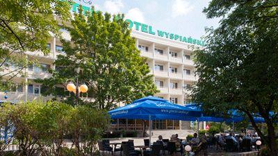 Framsida Hotel Wyspianski Krakow