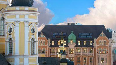 Fasad Hotel Dostoevsky St Petersburg