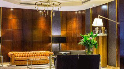 Lobby Hotel Carmen Granada