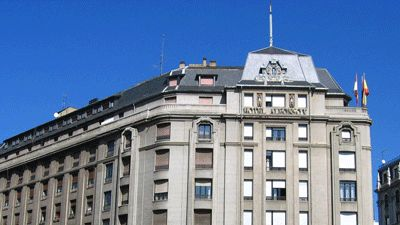 Fasad Hotel Sercotel Alfonso V