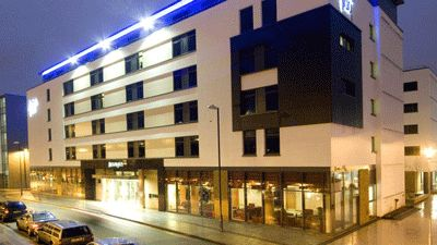 Utsida Hotel Jurys Inn Brighton