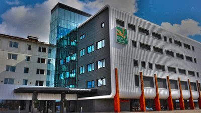 Fasad Quality Hotel Lappland